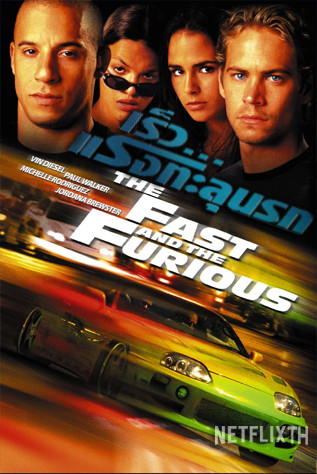 Fast 1 The Fast and the Furious เร็ว..แรงทะลุนรก HD 2001